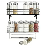 RSVP International 12-bottle Endurance Wall Mount Spice Rack