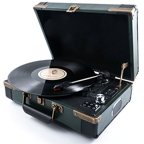 gpo-ambassador-stand-alone-turntable-with-bluetooth-built-in-speakers-green-black