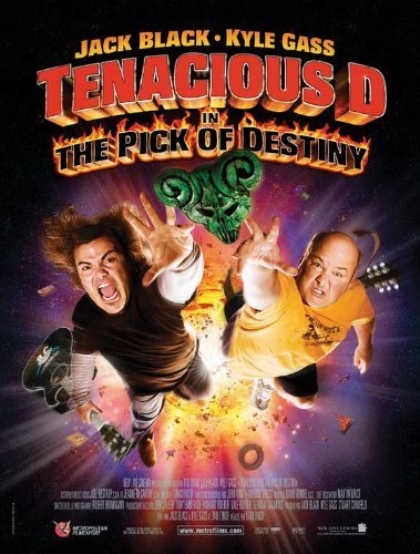 Old Tin Sign 8x12 inch Tenacious D in: The Pick of Destiny Movie (2006) (French Style A) Metal Tin Sign Home Decor (Tenacious D Decals compare prices)