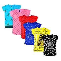 Girls Tops pack of 6 Combo