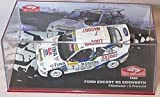 Ixo ford escort RS cosworth no7 1995 car 1.43 scale diecast model