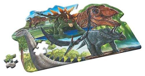 Imagen principal de Wild Republic 87416  - Museo Nacional de Historia, Puzzle Dinosaurio Piso - 100 piezas [importado de Alemania]