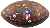 NFL All Team Logo Junior Wilson Football, 11-Inch, Brown