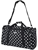 5 Cities World's lightest (only 0.5kg!) Cabin Size holdall -fits Ryan Air/Easy Jet 55 x 40 x x 20 -flight bag. Actual dimension 54x30x20, Massive 32l Capacity