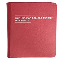 Our Christian Life and Ministry - Meeting Workbook Binder - Old Burgundy