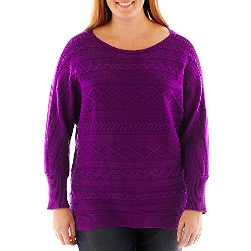 liz-claiborne-dolman-sleeve-braided-cable-sweater-plus-size-1x