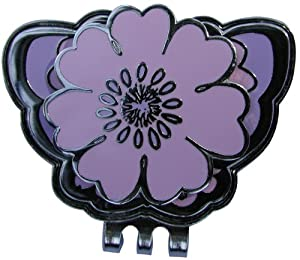 NAVIKA USA Inc. Navika Purple Flower Ball Marker with Matching Purple Butterfly Hat Clip at Sears.com