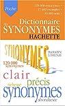 Dictionnaire des synonymes par Baratin