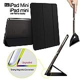 iPad mini Case, ESR Yippee Color Series Trifold Case Smart Cover for iPad Mini/iPad mini Retina display,iPad mini Retina Case (Mysterious Black)