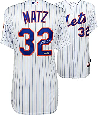 Steven Matz New York Mets Autographed White Authentic Jersey - Fanatics Authentic Certified - Autographed MLB Jerseys