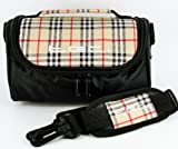 TGC ® Camera Case for Sony Cyber-shot DSC-HX50V, DSC-TF1 with shoulder strap and Carry Handle (TGC Chinazo Check & Black)