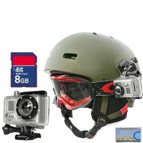 GoPro HD Helmet HERO High-Definition Waterproof Digital Camera + SD 8GB Memory Card