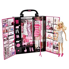 Buy Barbie Fashionista Ultimate Closet by Mattel