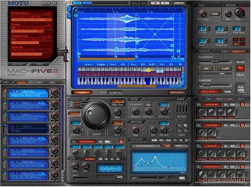 MOTU MachFive 2 Virtual Instrument (Standard)