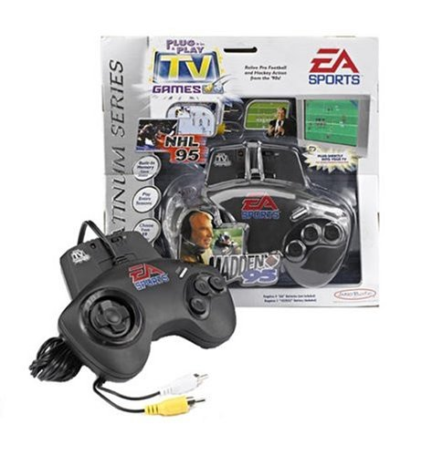 Buy EA Sports Plug and Play TV Games: Madden 95 and NHL 95