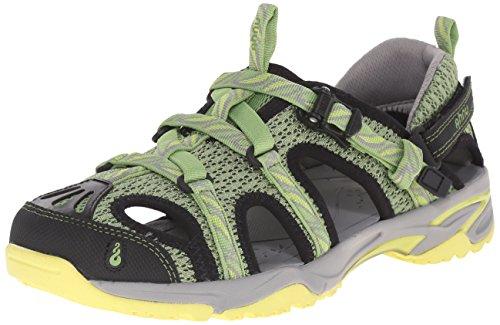 Ahnu Women's Tilden V Sport Sandal, Leaf Golden Grass, 7.5 M US