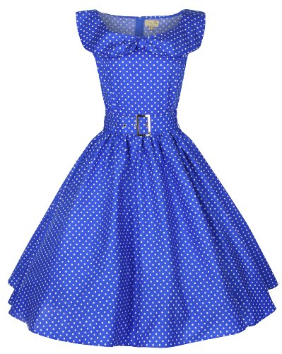 Lindy Bop Collar Vintage Rockabilly