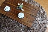 ISSEIKI 【アンティーク調お洒落テーブル】 CENTER TABLE センターテーブル ミディアムブラウン 幅90cm 高品質 コーヒー ビンテージ オシャレ 人気 木製家具 【LI-61-2】