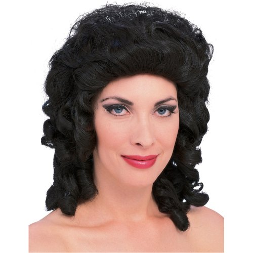 Adult Brown Southern Belle Costume Wig