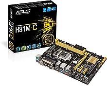 Comprar Asus H81M-C Placa base (Socket 1150, Intel H81, DDR3, S-ATA 600, Micro ATX, PCI Express 2.0, VGA, USB 3.0)