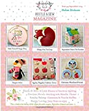 Helen Dickson Bustle & Sew Magazine September 2014: Issue 44