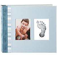 Pearhead Babyprints Memory Babybook, Blue