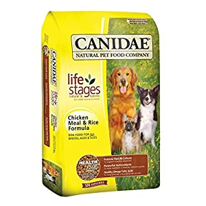 Chicken Meal and Rice Formula Dry Dog Food Size: 30-lb bag