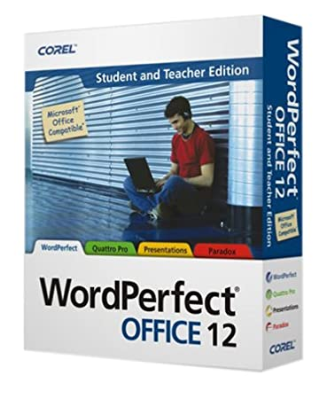 Corel WordPerfect Office 12 Student and Teachers Edition