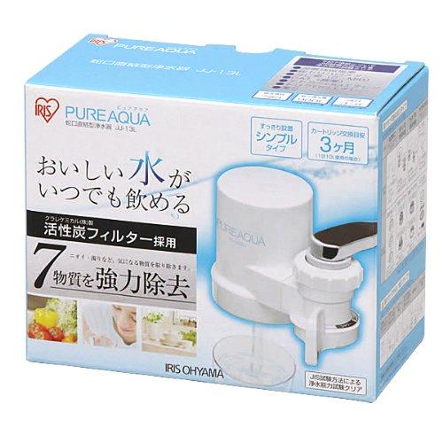 アイリスオーヤマ 蛇口直結型浄水器ピュアアクア JJ-13L