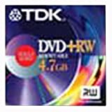 TDK DVD+RW Media 4.7GB (1-Pack)