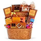 Godiva Premium Chocolate Thank You Gift Basket for Men, Women