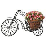 Gifts & Decor Nostalgic Bicycle Home Garden Decor Iron Plant Stand