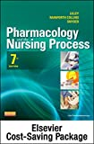 img - for Pharmacology and the Nursing Process -- Text and Elsevier Adaptive Quizzing Package, 7e book / textbook / text book