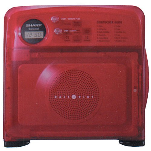 Amazon.com: Sharp R-120DS Half-Pint Microwave Oven, Red