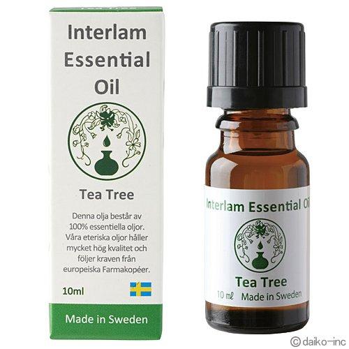Interlam Essential Oil ティートリー 10ml