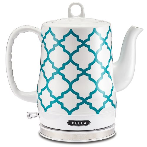 Electric Ceramic Kettle, Spanish Tile