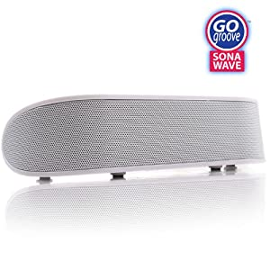 GOgroove SonaWAVE Hi-Fidelity 2.1 Channel Portable SOUND BAR with Built-in Subwoofer For iPhone / iPod / iPad / Android Phones / PC / Laptop