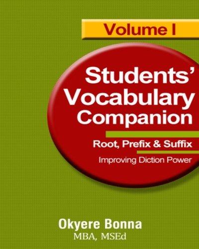 Student Vocabulary Companion 1: Book One