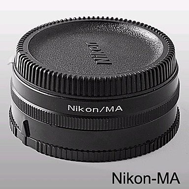 Nikon-Ma Mount Adaptor Nikon Ai Lens To Minolta Ma & Sony Alpha With Optial Glass (Cca158)
