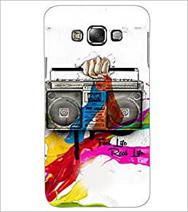 PrintDhaba Radio D-3449 Back Case Cover for SAMSUNG GALAXY A8 (Multi-Coloured)