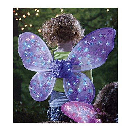 Purple Led Twinkling Fairy Wings