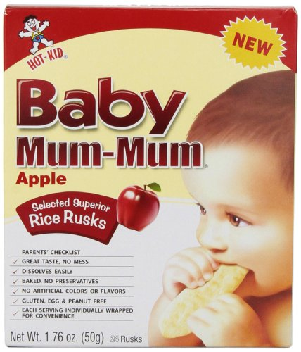 Mum Mum Rice Biscuits - Apple - 1.76 oz - 1