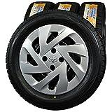 15インチ 4本セット スタッドレスタイヤ&ホイール ダンロップ(DUNLOP) WINTER MAXX WM01 175/65R15 トヨタ純正