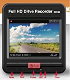 Makeit HD Mini DV Car DVR Camera Driving Recorder #1080P/30fps AVI H.264 Looping Recorde wide127 Lens accelerometer G-sensor file auto_lock DR32