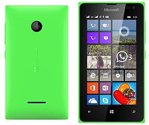 Microsoft Lumia 435 8GB 4G Unlocked GSM Windows Smartphone - Bulk Packaging (Green)