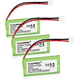 Floureon 3-Packs Replacement Cordless Phone Batteries for V-Tech CS6229, CS6229-2, CS6229-3, CS6229-4, CS6229-5, DS3101, DS3111-2, DS6111, DS6111-2, DS6111-3, DS6111-4, DS6115-2, DS6121, DS6121-2, DS6121-3, DS6121-4, DS6121-5, DS6122-5, DS6201, DS6211, DS6211-2, DS6211-3