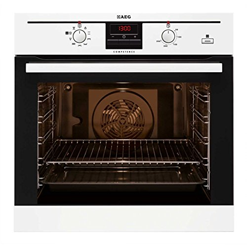 AEG BE300362KW COMPETENCE Electric Built in Oven with SteamBake Function White