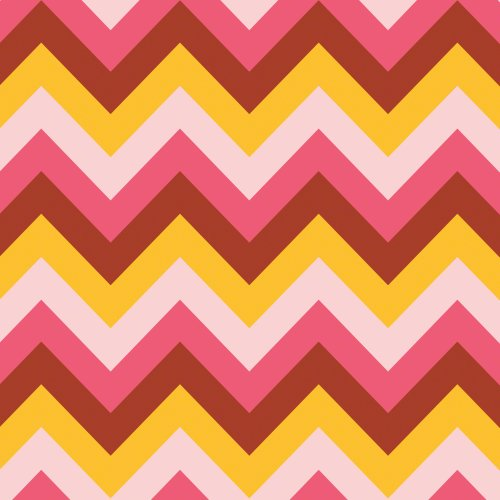 WallCandy Arts Chevron Cosmo Wallpaper