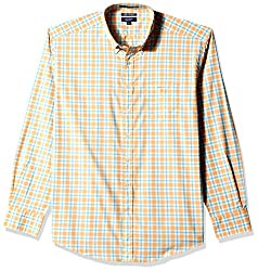 Gant Men's Casual Shirt (8907036809442_GMSFF0074_XX-Large_Coral)