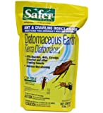'Safer Brand 51702 Diatomaceous Earth - Bed Bug, Ant and Crawling Insect Killer, 4-Pound Bag' from the web at 'http://ecx.images-amazon.com/images/I/51H9e%2blHCUL._AC_UL160_SR146,160_.jpg'